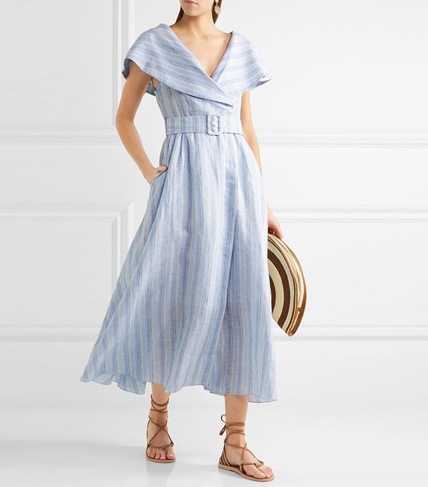 San Francisco fashion -  Gül Hürgel Belted Linen Dress