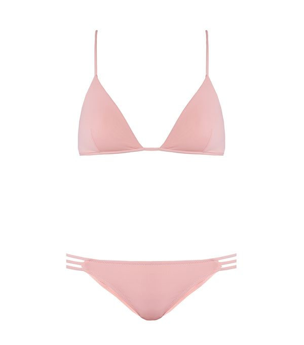 best pink bikini- Melissa Odabash Bali Triange Bikini
