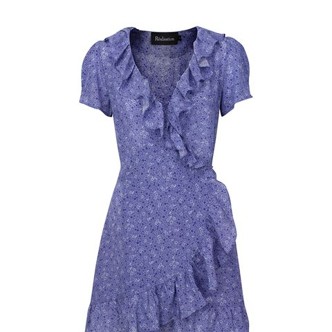 Valentina Dress in Purple Haze