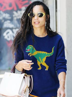 Zoë Kravitz Proves These Are the #1 Spring Trousers for Short Girls