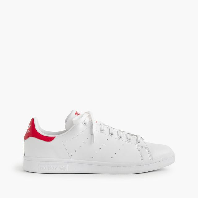 Adidas Stan Smith White With Red Sneaker