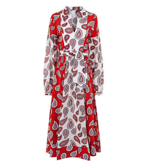 Dodo Bar Or Combo Paisley Harrison Shirt Dress