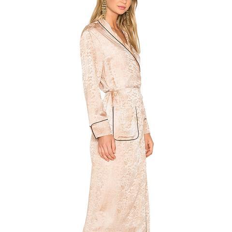 Robe Dress in Desert Wash