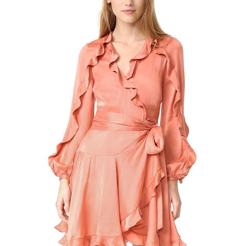 Winsome Flutter Robe Dress