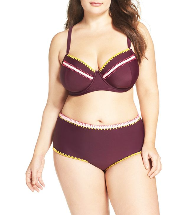 Jessica Simpson Underwire Bikini Top