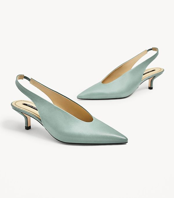 Naked Shoe Trend Zara Shoes For Summer Whowhatwear Uk