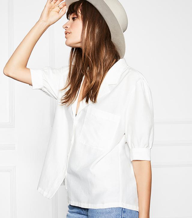 best white blouse