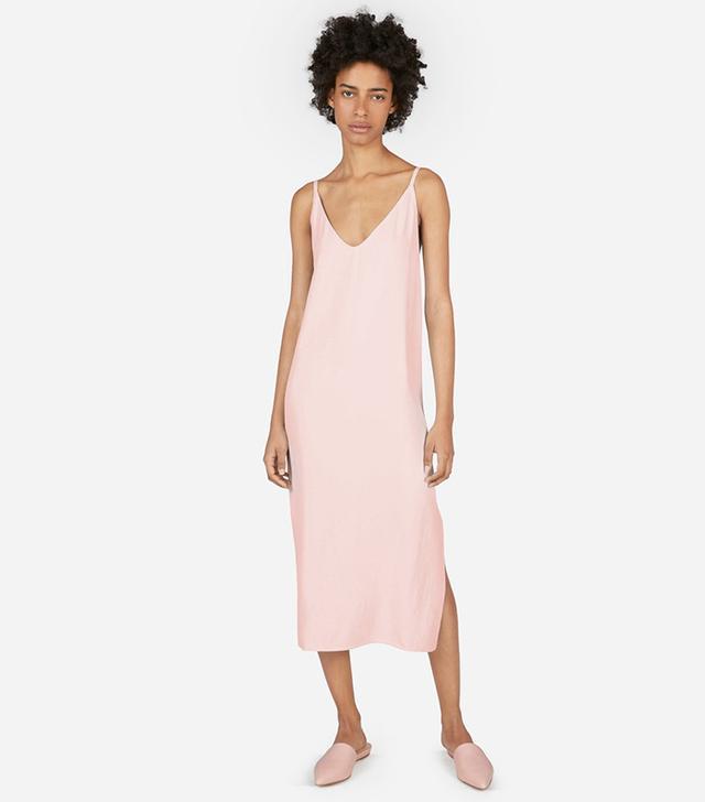 best pink slip dress