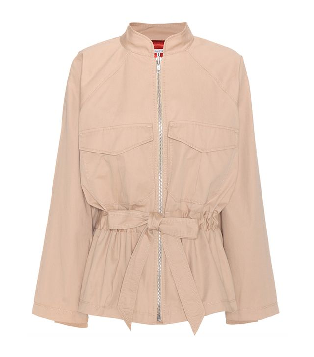 Ganni Philips Cotton Jacket