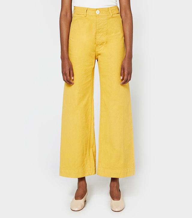 Jesse Kamm Sailor Pants in Caribbean Gold
