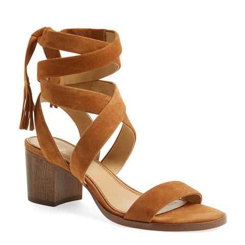 Janet Block Heel Sandal