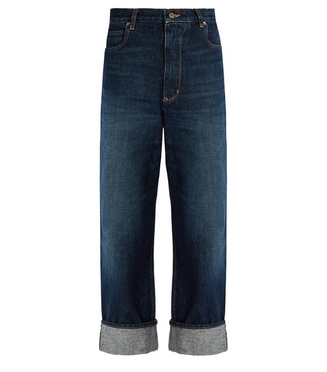 Golden Goose Deluxe Brand Kim High-Rise Straight-Leg Boyfriend Jeans