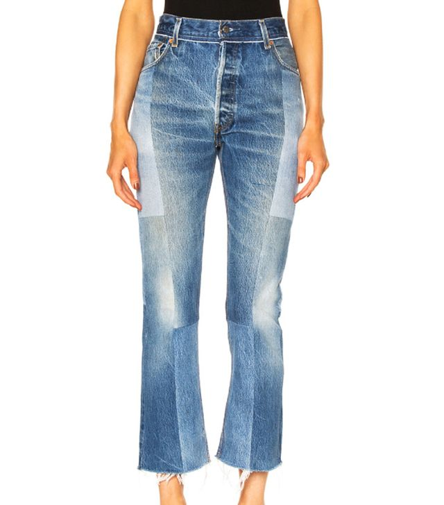 Re/Done Seamed High Rise Jeans