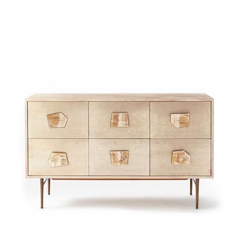 Roar + Rabbit Jeweled 6-Drawer Dresser