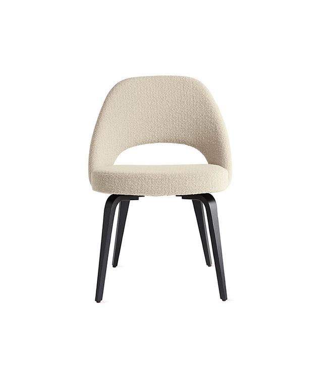 Knoll Saarinen Executive Side Chair with Wood Legs