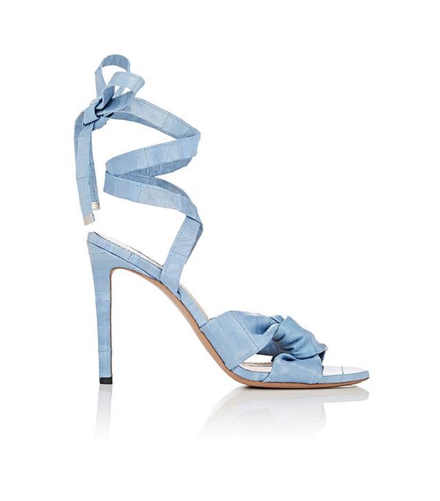 Altuzarra Zuni Eel-Skin Sandals
