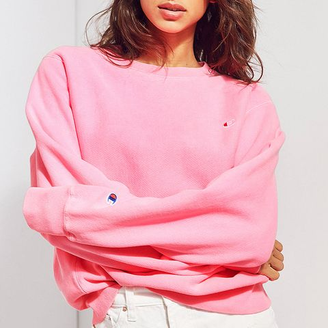 + UO Pigment Dye Pullover Sweatshirt