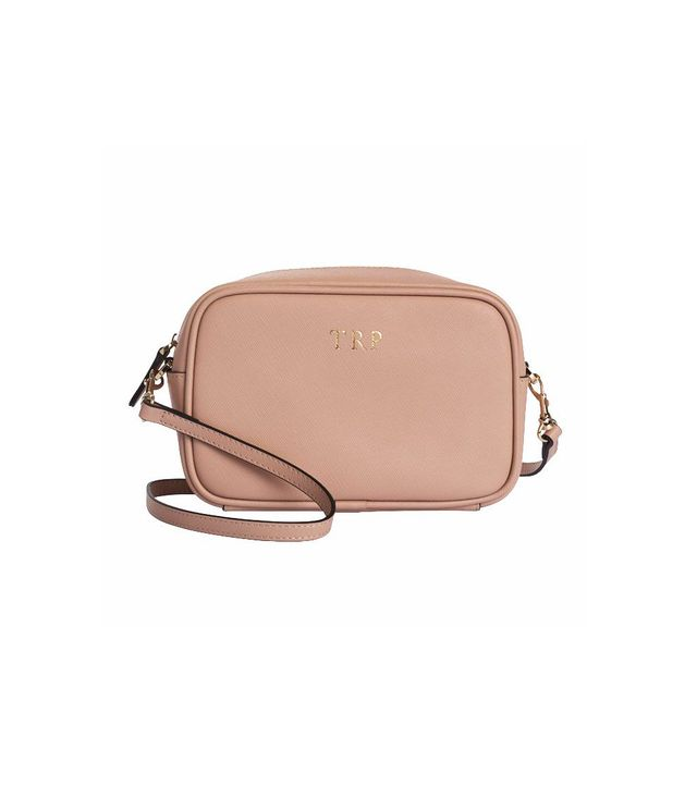 The Daily Edited Taupe Mini Cross Body Bag