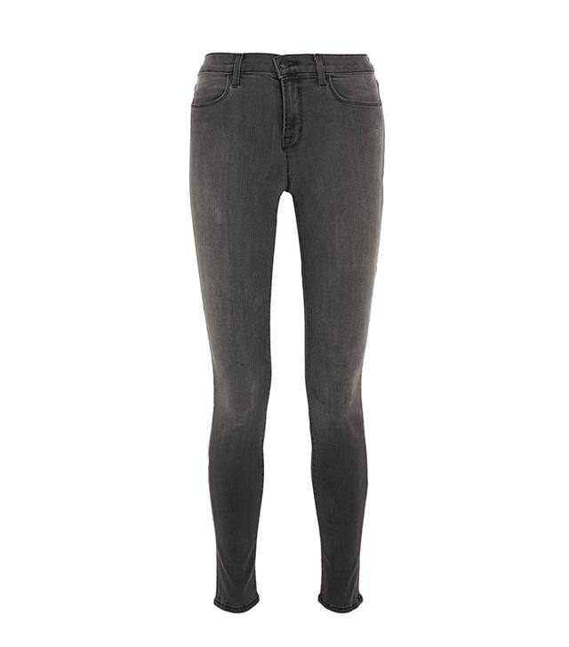 Emily Ratajkowski Wears Gray Skinny Jeans | WhoWhatWear
