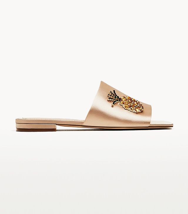 Zara Gem Silk Slides
