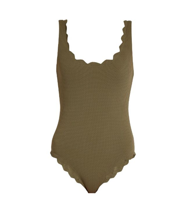 Marysia Swim Palm Springs Scallop-Edged Swinsuit