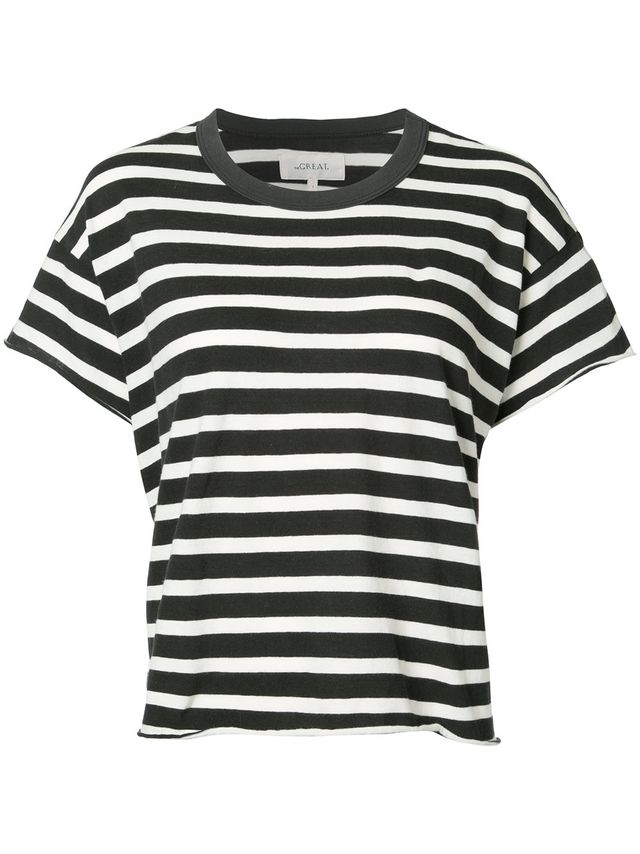 The Great. Striped T-Shirt