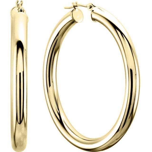 Bonheur Selena Gold Hoops