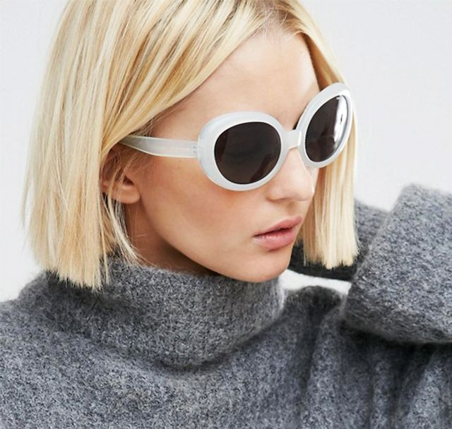 Affordable Summer Trends: White Sunglasses