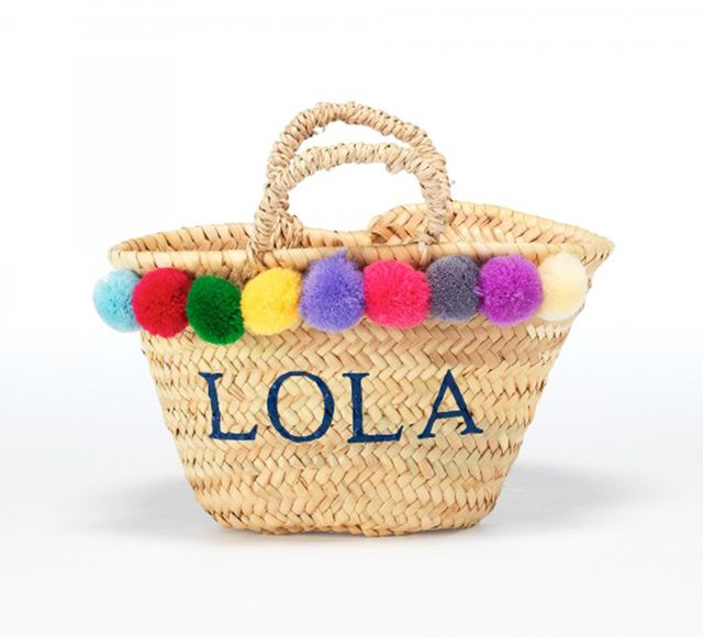 Rae Feather Baby Monogram Basket