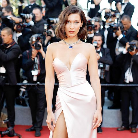 Cannes Red Carpet Best Dressed 2017: Bella Hadid wearing Alexandre Vauthier