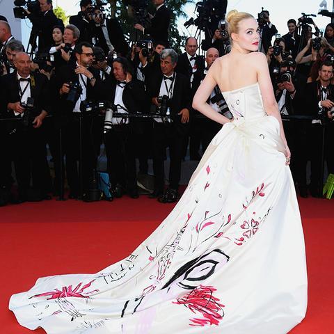 Cannes Red Carpet Best Dressed 2017: Elle Fanning wearing Vivienne Westwood