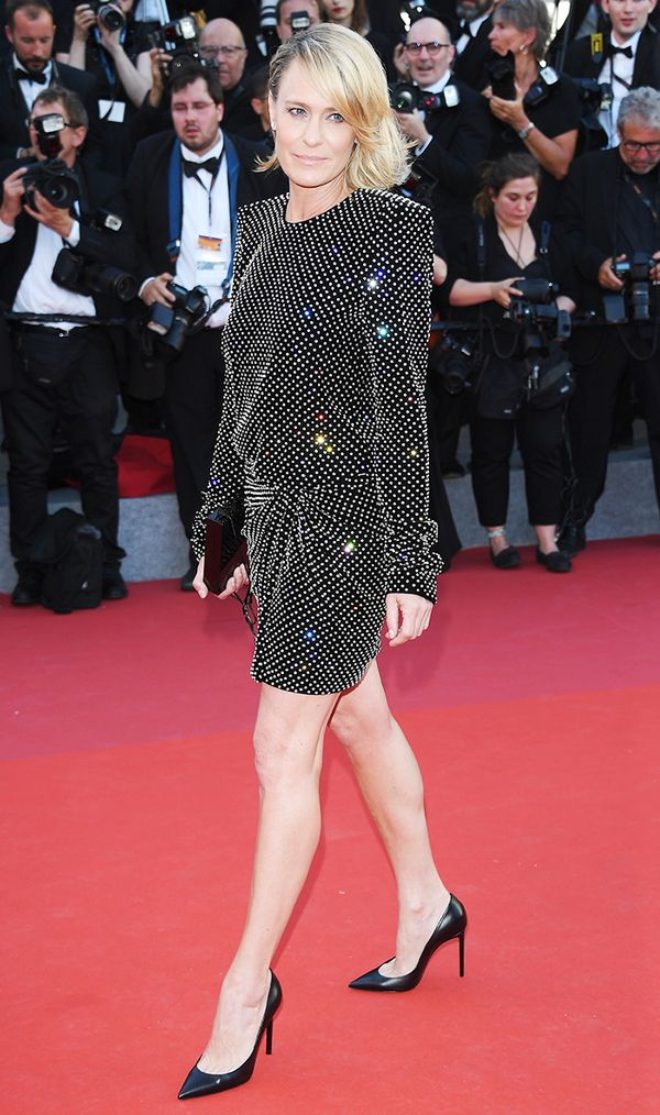 Cannes Red Carpet Best Dressed 2017:  Robin Wright