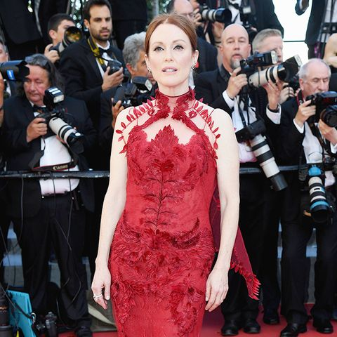 Cannes Red Carpet Best Dressed 2017: Julianne Moore wearing Givenchy
