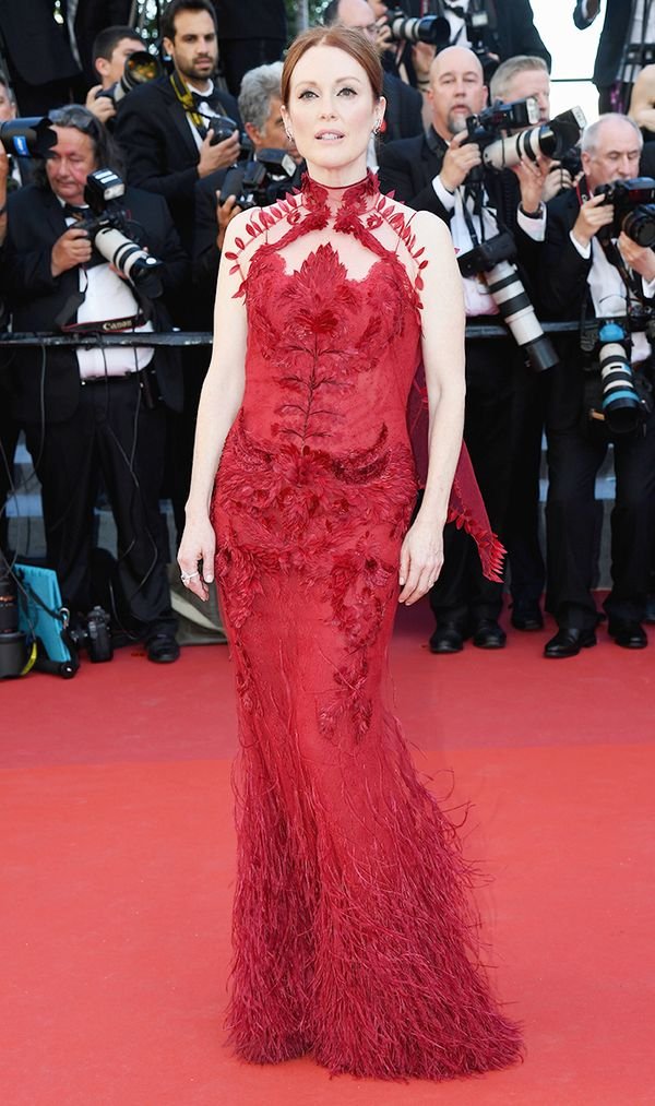 Cannes Red Carpet Best Dressed 2017: Julianne Moore
