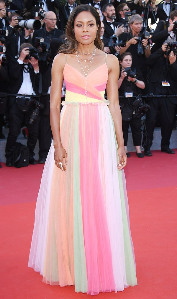 Cannes Red Carpet Best Dressed 2017: Naomie Harris wearing Gucci