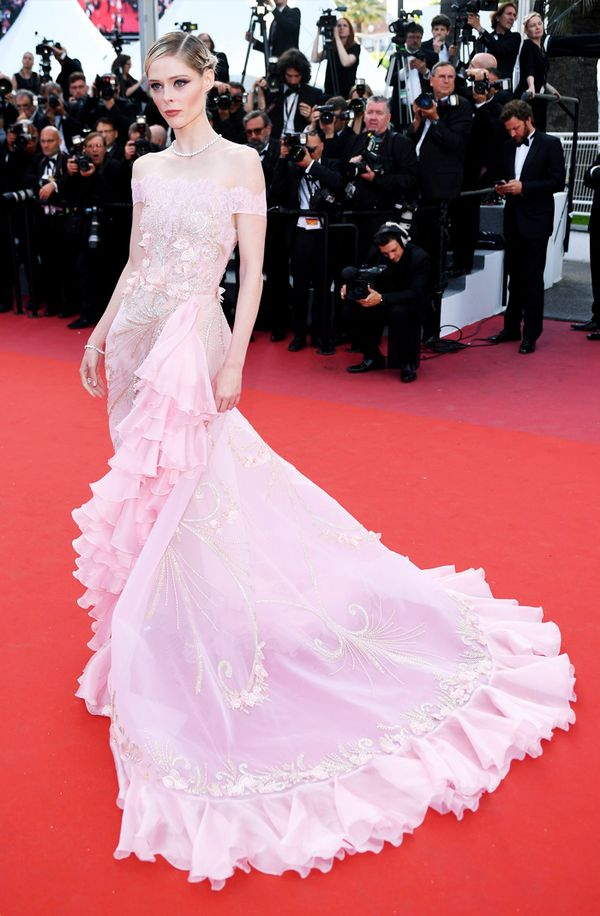 Cannes Red Carpet Best Dressed 2017: Coco Rocha