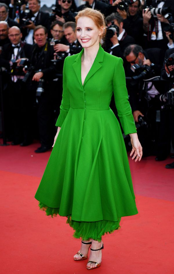 Cannes Red Carpet Best Dressed 2017: Jessica Chastain