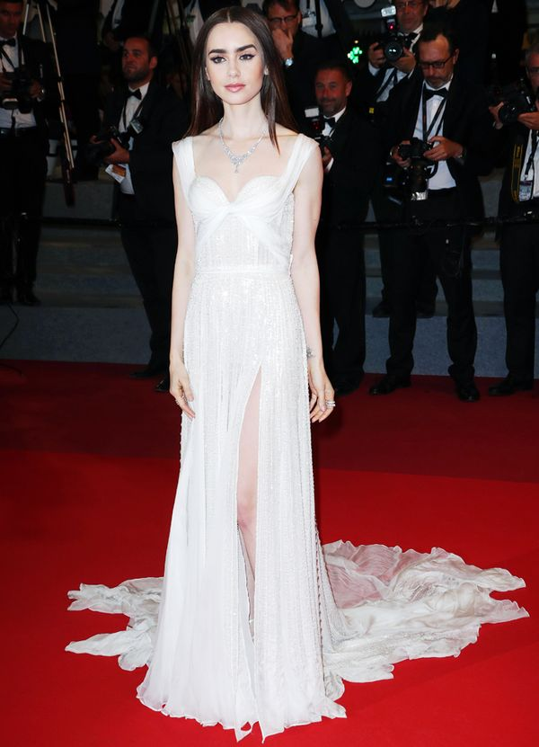 Cannes Red Carpet Best Dressed 2017: Lily Collins