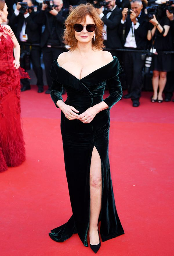 Cannes Red Carpet Best Dressed 2017: Susan Sarandon