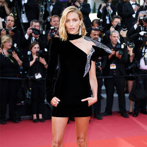 Cannes Red Carpet Best Dressed 2017: Anja Rubik