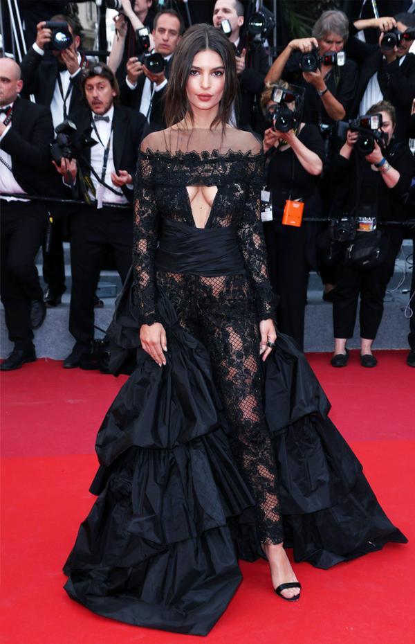 Cannes Red Carpet Best Dressed 2017: Emily Ratajkowski