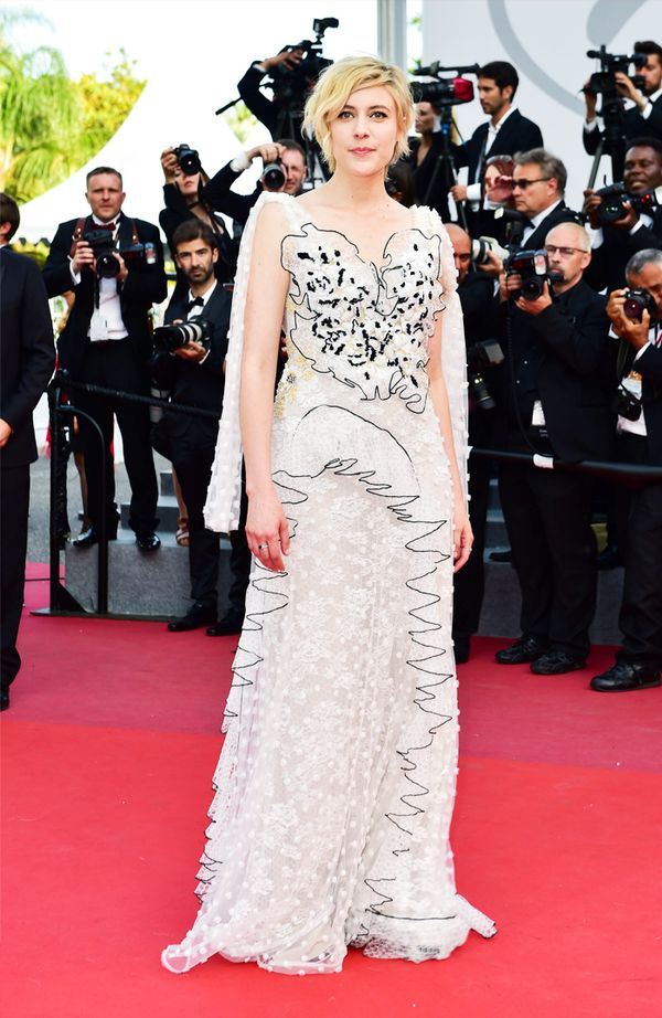 WHO: Greta Gerwig WEAR: Rodarte gown. Hooked on Cannes glamour? See more gorgeous looks from the Cannes film festival.