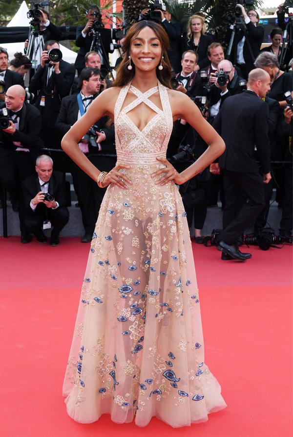 Cannes Red Carpet Best Dressed 2017: Jourdan Dunn in Elie Saab
