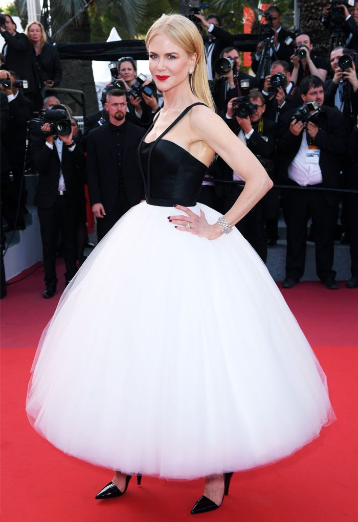 Cannes Red Carpet Best Dressed 2017: Nicole Kidman in Calvin Klein