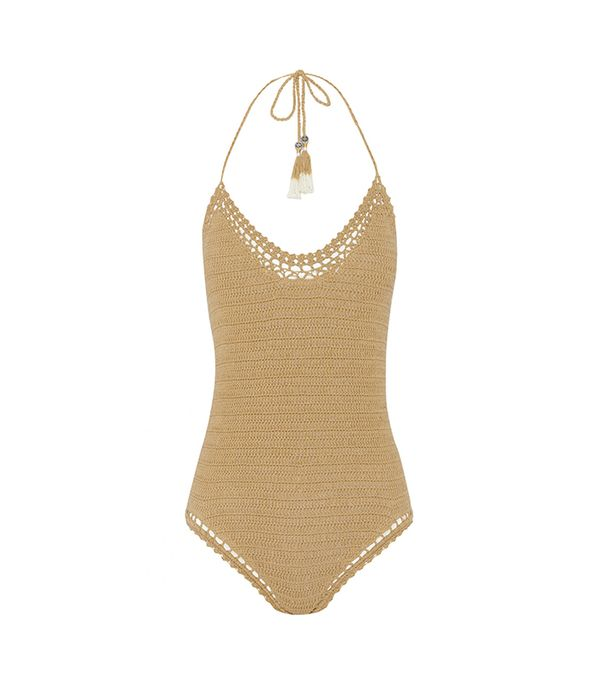 French Girl Summer Swimsuit Trends: She Made Me Essential Crochet One Piece