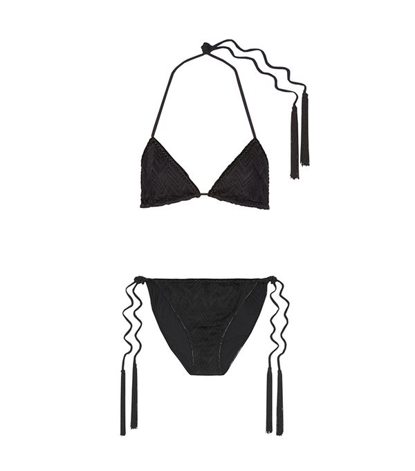 French Girl Summer Swimsuit Trends: Missoni Mare Bikini