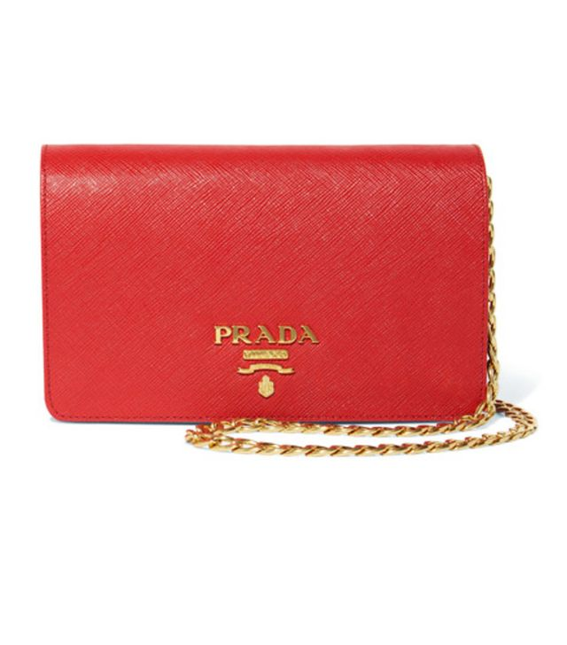 Colour the most attractive to men: Red Prada bag