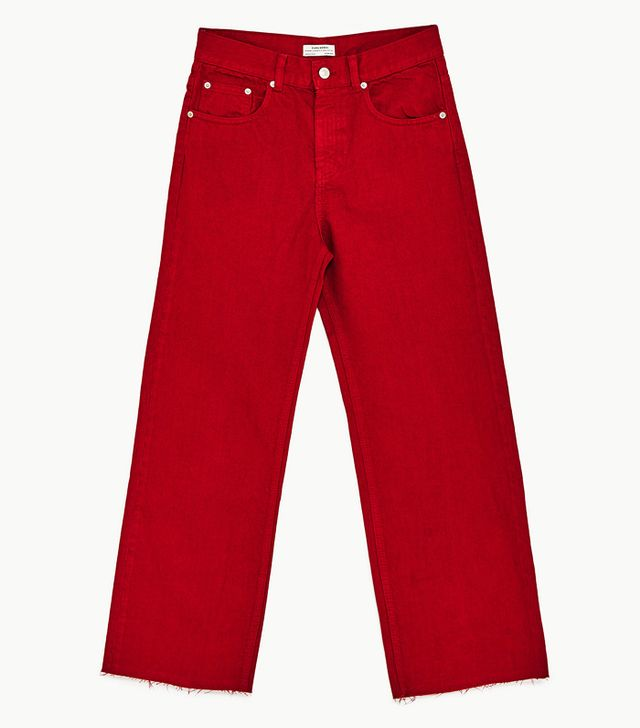 Colour the most attractive to men: Zara red culottes