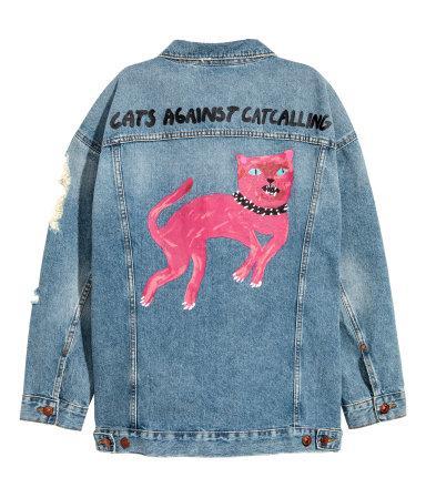 H&M Oversized Denim Jacket