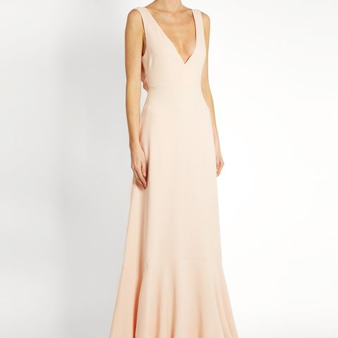 Open Tie-Back Gown